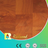 Household 8.3mm E1 Embossed Walnut Waxed Edge Laminate Floor