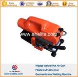 Plastic Overlap HDPE PVC LLDPE Geomembrane Hot Wedge Welder