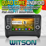 Witson S160 Car DVD GPS Player for Audi Tt (2006-2014) with Rk3188 Quad Core HD 1024X600 Screen 16GB Flash 1080P WiFi 3G Front DVR DVB-T Mirror-Link (W2-M078)