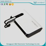 2016 New 6600mAh Portable Power Bank with Hands Free Bluetooth Headset