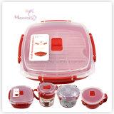 BPA Free 1.32L Food Grade Plastic Microwave Steamer