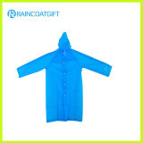 Cheap PE Disposable Rain Coat with Sleeve (RPE-063)