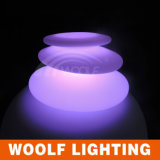 Color Changing Dimmable LED Floor Stone Lamp
