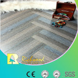 Household 8.3mm HDF Crystal Oak Waxed Edged Laminate Floor