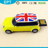 Customized Blue Car Shape USB Flash Drive for Student (EP055)