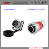 Circular Cable Power Waterproof Connector M20 with 3 Pin