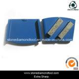 Double Segments HTC Concrete Grinding Metal Bond Shoe