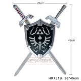 The Legend of Zelda Swords with Shields