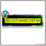 Better LCM Yellow Background LCD Screen 1601