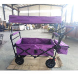 New Baby Folding Stroller/Cart with Colorful Canopy and Storage Basket