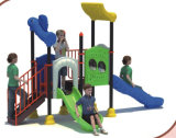 2015 Hot Selling Outdoor Playground Slide with GS and TUV Certificate (QQ14022-2)