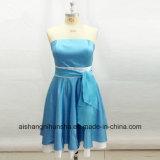 Custom Bridesmaid Dresses Short Strapless Ivory Wedding Party Dress