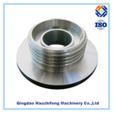 CNC Machined Stainless Steel Flange with Sillver Finish