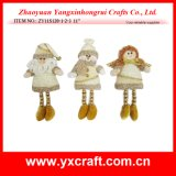Christmas Decoration (ZY11S120-1-2-3 11′′) Christmas Artwork Christmas Beauty Girl