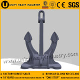 Ship Spek Anchor with Mooring Chain