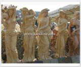 Stone Figure Sculpture/Carving, Outdoor Sculpture for Landscape