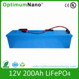 12V 200ah LiFePO4 Lithium-Ion Battery Pack for Solar System