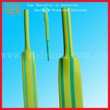Yellow&Green Stripped Polyolefin Heat Shrinkable Tubing