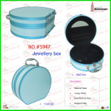 Retro Style and Fashional Faux Leather Jewelry Box (3213)