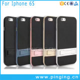 PC Bumper Carbon Fiber Cover Case for iPhone 6 Plus Cases
