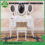 French Dressing Table with Cupboard (W-HY-078)