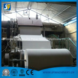 Pulp and Waste Paper Recycling Jumbo Roll Toilet Tissue Paper Roll Making Machine