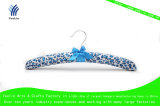 Blue Point Satin Padded Cloth Hanger (YLFBS004W-1)