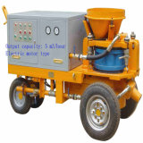 Wet-Mix& Dry-Mix Double Process Usage Rotor Concrete Shotcrete Machine