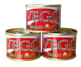 Vego Brand Canned Tomato Paste From 70g to 2.2kg