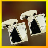 Brass Men Shirt Fashion Jewelry Stone Cufflink Accessory