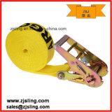 "Endless Ratchet Strap/Lashing 2"" X 20′ Yellow Heavy Duty"
