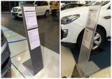 Metallic or Acrylic Material Literature Brochure Stand