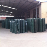 "PVC Coated Galvanized Steel Welded Wire Mesh, 1 X1 Mesh Size, 84.6% Open Area, 5/64"" Wire Diameter"