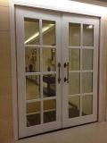 Simple Design Wood Glass Insert Room Door Simple Design
