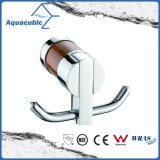 Chromed Double Robe Hook (AA6711)