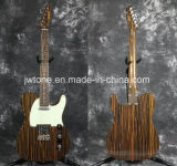 Zebrawood Body Zebrawood Neck Tele Electric Guitar