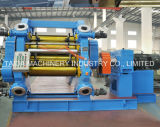 Tire Fiber Polyester Rubber Topping Four Roll Calender Production Line