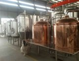 Red Copper Beer Fermentation Tank for Sale
