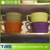Large Stoneware Ceramic Cream Batter Bowl Set (15031802)