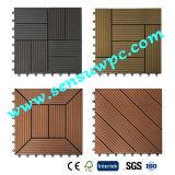 2017years/ Best Hot Sale DIY Decking Tiles with Wood Plastic Composite/ Outdoor Floor