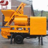 Jbt40 Electric Concrete Pump with Mixers Mobile Concrete Mixer Pump