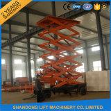 Aerial Work Platform Elevated Work Platform with 8m