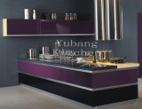 Hot Sale New Modern Lacquer Wood Kitchen Cabinet (M-L56)