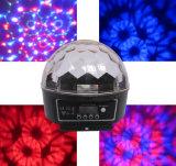 6*3W RGB LED Crystal Magic Ball Light
