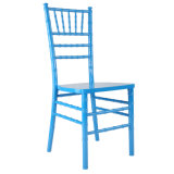 Blue Solid Wood Chiavari Chair for Wedding and Event