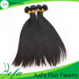 Unprocessed Virgin Hair Natural Black Human Hair Extension
