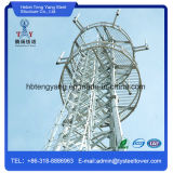4 Legged Galvanized Angle Steel Towers for Communication