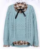 Hollow Long Sleeved Sweater (BT7212)