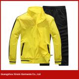 Best Seller 100% Polester Breathable Yellow Training Sportwear Suit (T71)