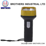 Hot Sell LED Battery 1*AA Plastic Torch